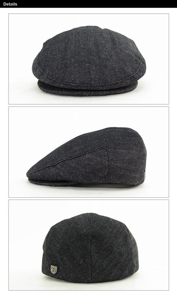 amb  Brixton hooligan Hat washed black (Brixton HOOLIGAN HAT hunting ... dedef0cbffb8