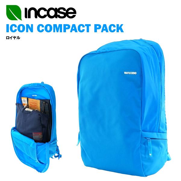 インケース アイコン コンパクト パック ロイヤル CL55550 (INCASE ICON COMPACT PACK バックパック デイバッグ・リュック 15インチノートPC・MACBOOK PRO・IPHONE 6 収納可)