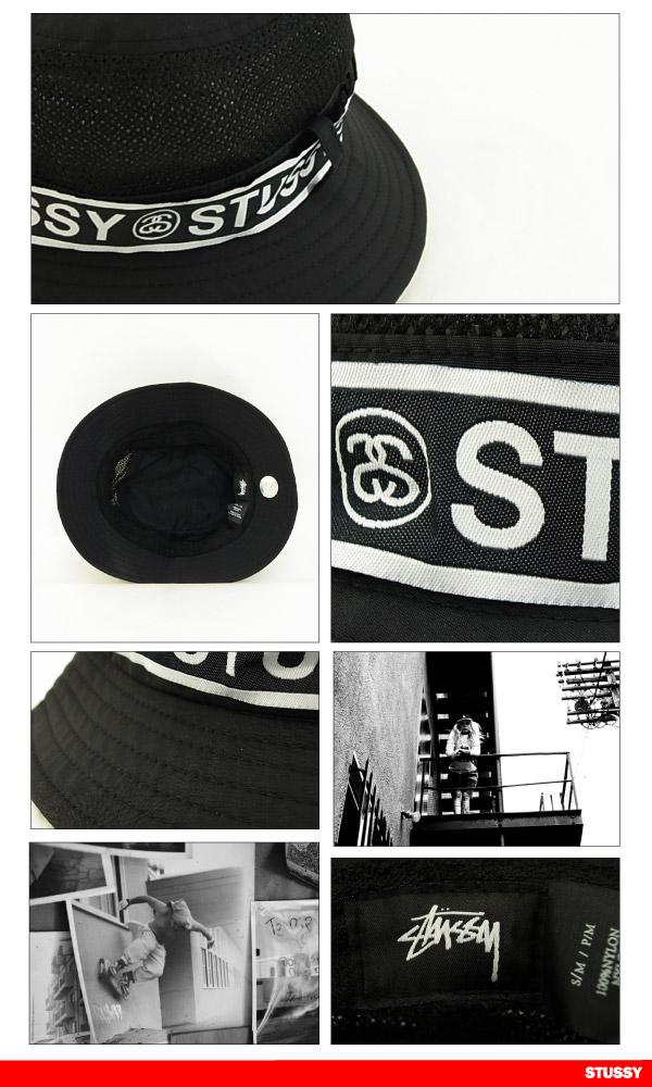 98e5947383d Stussy band bucket Hat Black (STUSSY BAND BUCKET HAT 132669)  in July