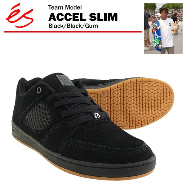 에스아크세르스림브락크/블랙/껌 스케이트 skater 스니커(es ACCEL SLIM)