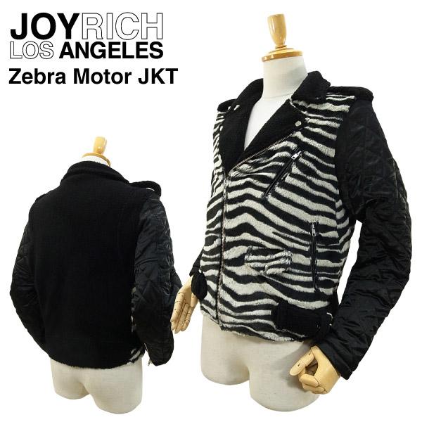 ジョイ リッチ ゼブラ モーター ジャケット (JOY RICH ZEBRA MOTOR JKT ライダースジャケット メンズ 男性用 ジョイリッチ)