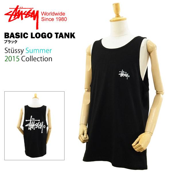e78a0df3f67622 Stüssy basic logo tank black (STUSSY BASIC LOGO TANK 1933566 tank top)  in  July