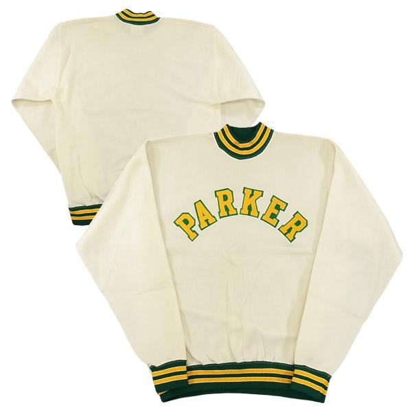 VINTAGE 60's チャンピオン ナイロンスウェット オフホワイト/size XL [60's Champion Sweatshirt] 【あす楽対応】【あす楽_土曜営業】【海外直輸入USED品】