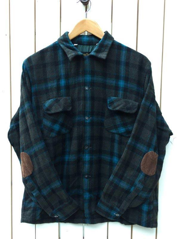 60~70s おすすめ特集 WOOL 中古 SHIRTS 60~70年代 ウールシャツ 古着 日本サイズL アメリカ直輸入 表記サイズ:L
