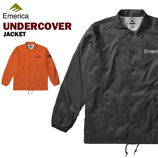 エメリカ アンダーカーバー ナイロンジャケット スケート スケーターウエアー (Emerica UNDERCOVER JACKET)