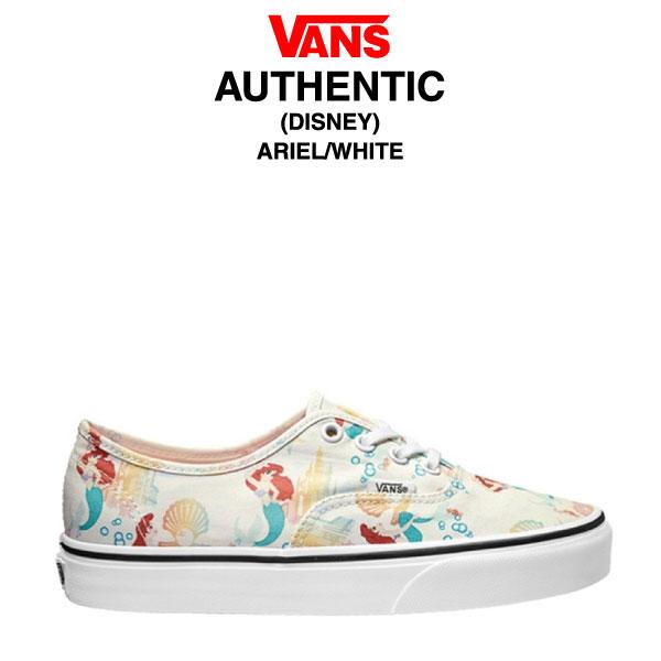 0c695fe6a4 amb  Vans authentic Disney Ariel   white (Sneakers Shoes VANS ...