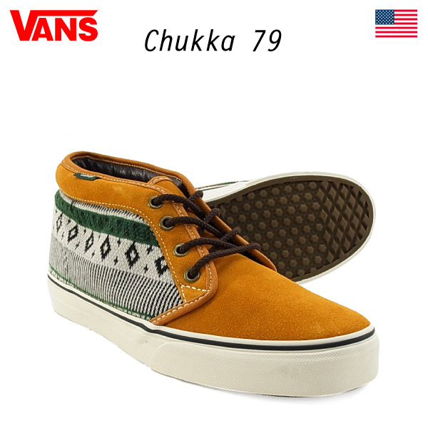 ffe8b2ad249f The バンズチャッカ 79 Nordic events last  Sudanese brown   hunter green  26cm (VANS  CHUKKA 79 NORDIC)  USA direct import model