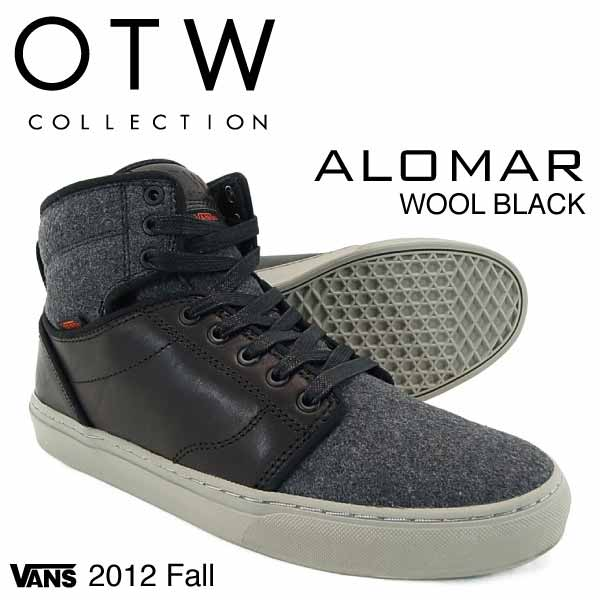 amb  Vans of the wall collection allomer wool black (VANS OTW ... b2c36078cf3
