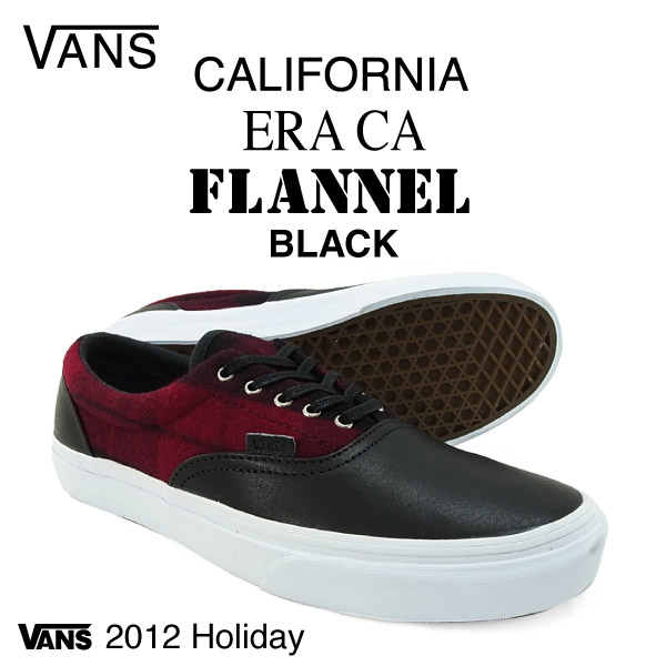 92d8e5e513a625 amb  Vans era California flannel black (VANS ERA CA FLANNEL ...