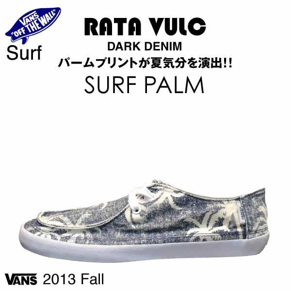 a2345beb99 amb  Vans rata bulk surf parm dark denim surf (VANS RATA VULC SURF ...