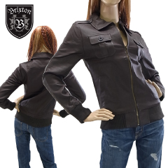 ブリクストン コース フォウ レザー ジャケット ブラウン (Brixton CAUSE Leather Jacket) 【あす楽対応】【あす楽_土曜営業】