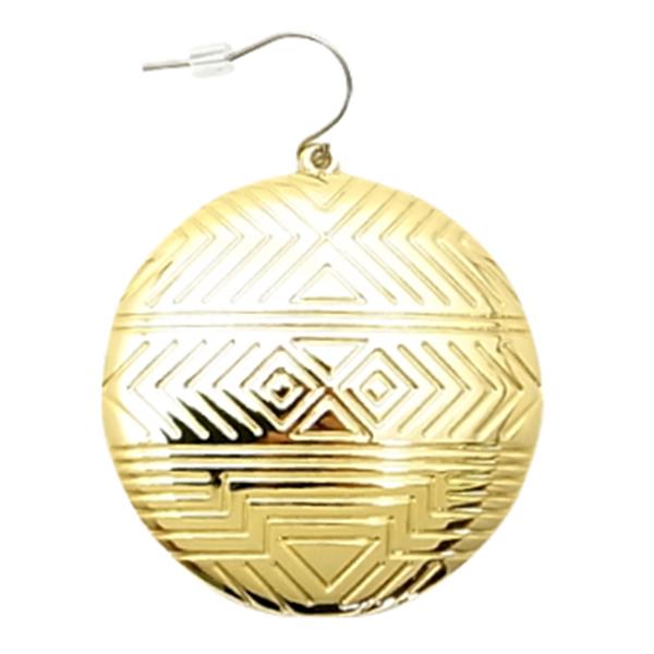 House Of Harlow 1960 Medallion Earring Gold Earrings Nicole Richie Design Produce Fs3gm