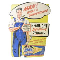 VINTAGE HEAD LIGHT Signboard 1940S ヴィンテージ ヘッドライト 広告用サインボード 【あす楽対応】【あす楽_土曜営業】【海外直輸入USED品】