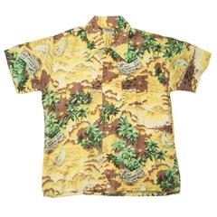 VINTAGE Aimys (60's~70's) ビンテージアロハシャツ ハワイアン柄 size L 【あす楽対応】【あす楽_土曜営業】【古着】【海外直輸入USED品】
