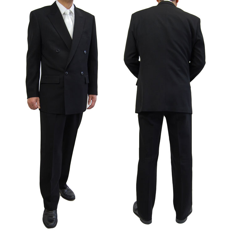 Ambereal Formal Wear Mens Formal Suit 5000 2b Double W Semi Formal