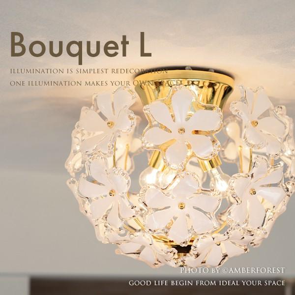 【送料無料】 ■Bouquet L■ 少し大きな3灯タイプが登場 人気のブーケのシーリングライト【Kishima キシマ】