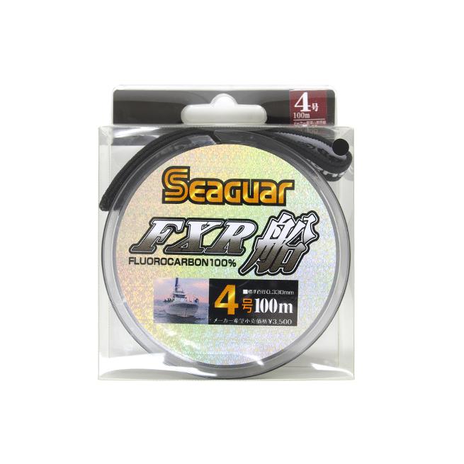 시가 FXR선 4호 100 m Seaguar 프로 로카-본 라인 Kureha《크레 하》하리스리다스로지깅