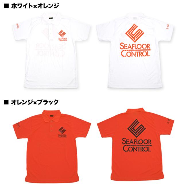 """폴로 Polo Shirts 씨 플로어 컨트롤 《 SEAFLOOR CONTROL """"드라이 & 데오도란트 폴로 셔츠"""
