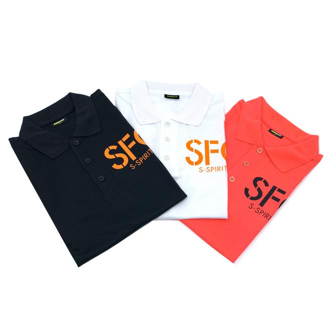 シーフロアコントロール 旧ロゴ ポロシャツ リラックスフィット ドライ&デオドラント ポロシャツ 4L