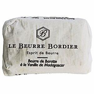 フランスの三ツ星レストランで使われる手ごねバター マーケット 毎週月曜〆切→翌週金曜発送 フランスブルターニュ産 ボルディエ フレッシュバター 捧呈 125g バニラ