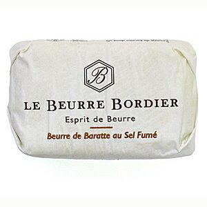フランスの三ツ星レストランで使われる手ごねバター 毎週火曜〆切→翌週金曜発送 フランスブルターニュ産 評価 ボルディエ 125g 格安激安 フレッシュバター 燻製塩