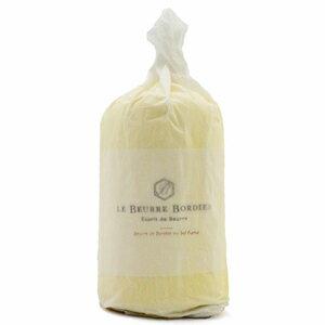【毎週火曜〆切→翌週木曜発送】紙巻き フランスブルターニュ産 ボルディエ 発酵フレッシュバター 燻製塩 1kg