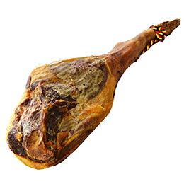 ボナーリア 12ヶ月熟成 ハモンセラーノ骨付き 約8kg(不定貫2100円[税抜]/kgで再計算)