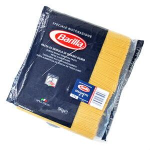 正規輸入品 業務用 2020新作 大容量の5kgパック ご予約品 バリラNo5 スパゲッティ 1.78mm 5kg