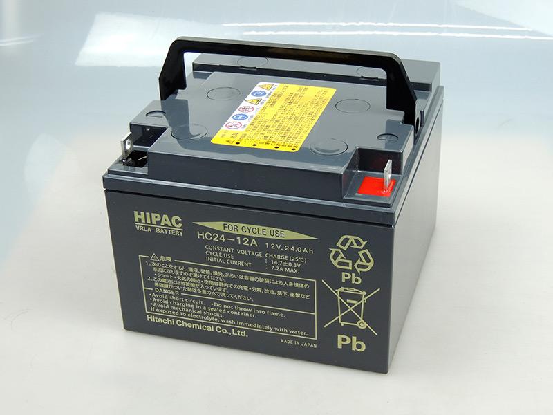 재고 개미 일본제 국산 HC24-12 A히타치 히타치 화성(신코베전기) 소형 제어 밸브식 납축전지 HC시리즈 배터리 UPS UPS 전동 휠체어 무인 반송차태양계 HC24-12 A