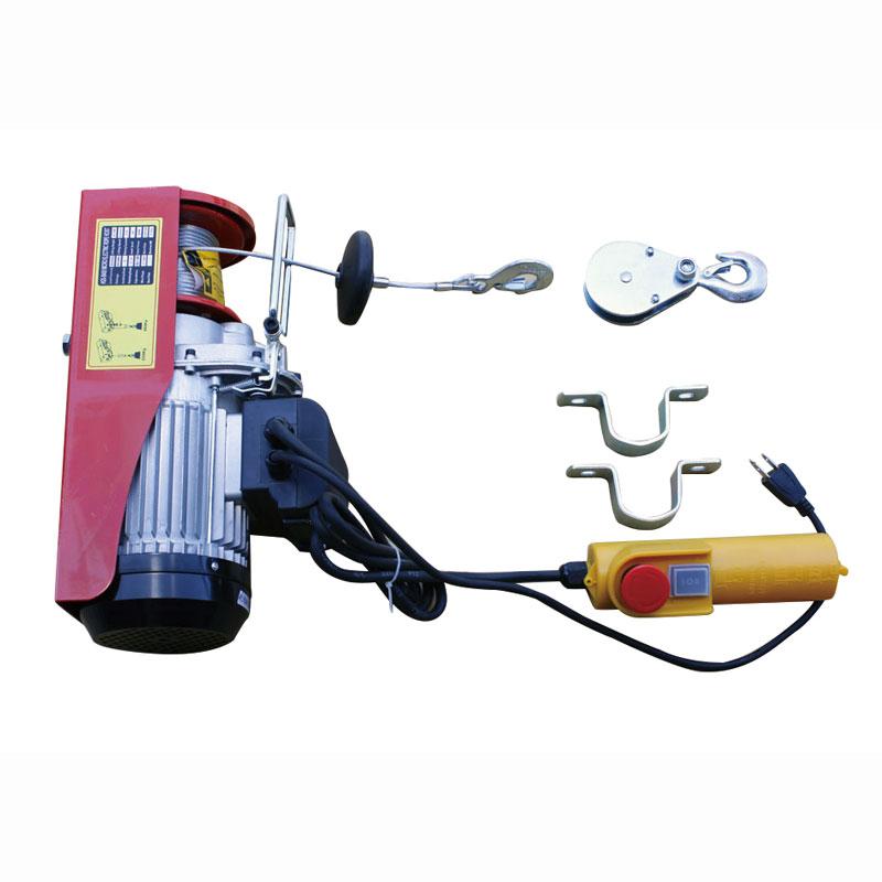 家庭用 100V 電動ウインチ (ホイスト) 最大能力400kg (簡易日本語説明書付き) TKK010