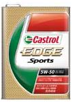 カストロール EDGE Sprort 5W-50 SM/CF 自動車 ガソリン ディーゼルエンジン両用オイル 【1L(リットル)×6本】 全合成油 Castrol オイル