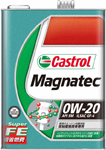 【 ポイント5倍 2020/5/9 20時~2020/5/16 2時 】 カストロール Magnatec 0W20 API SM ILSAC GF-4 自動車用ガソリンエンジン専用オイル 【1L(リットル)×6本】 部分合成油 Castrol オイル 送料無料