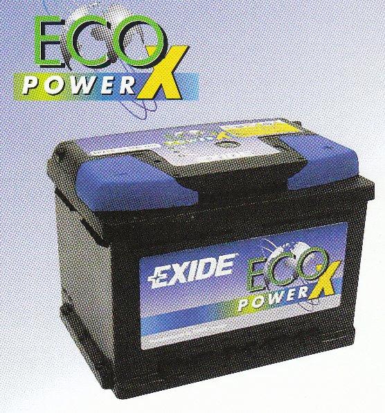 【 ポイント5倍 2018/08/04 20時~2018/08/09 2時 】 送料無料 EXD-EPX80 エキサイド 自動車 用 バッテリー 2年保証 EXIDE Eco Power Xシリーズ(欧州車用) 車