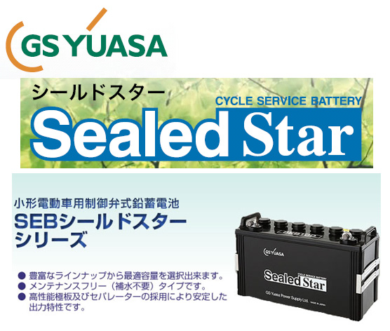 【 ポイント5倍 2020/5/9 20時~2020/5/16 2時 】 SEB130 【L型端子】 GS ユアサ / シールド EB ディープサイクル バッテリー 送料無料