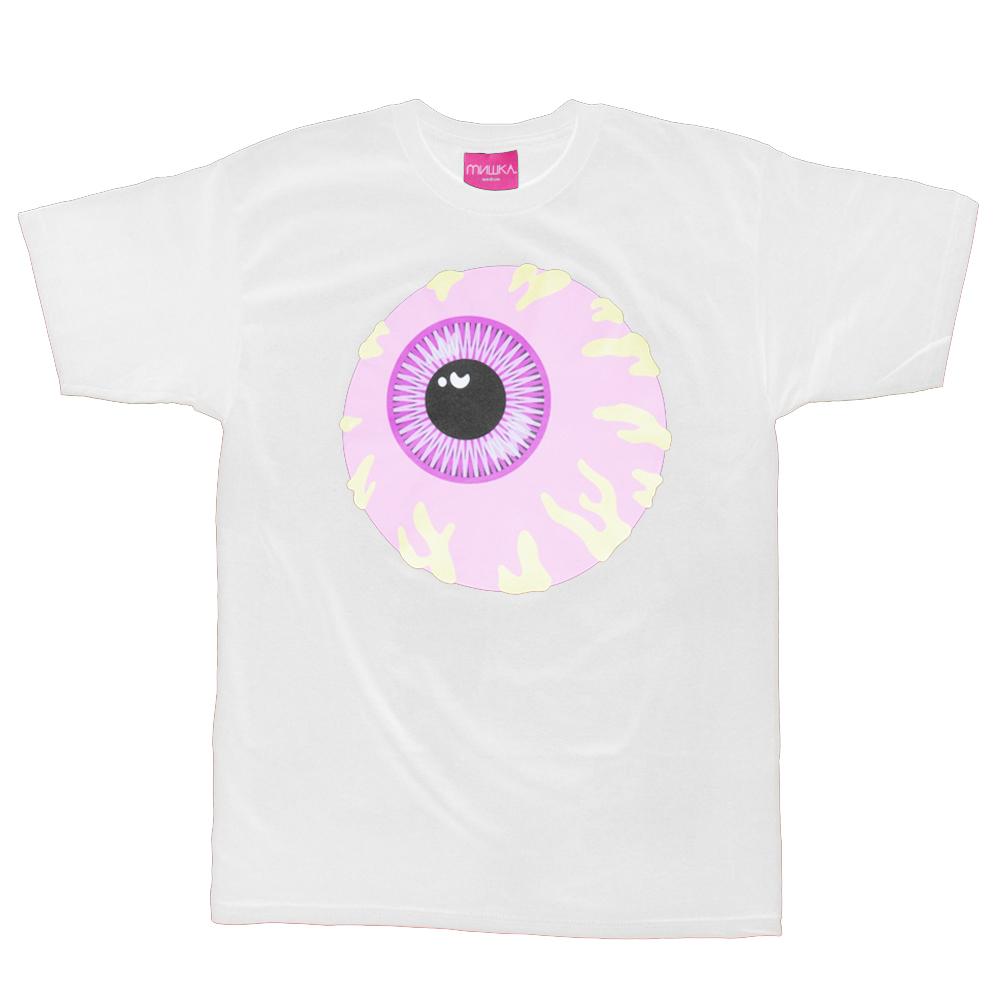 ピンク色のkeep Watch 送料無料 Mishka Pink 一部予約 Keep 半袖 Watch ミシカ Tシャツ T Shirt
