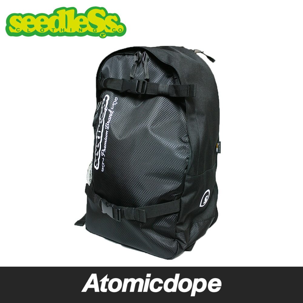 【送料無料】【seedleSs】sd original style back pack 2  バックパック 黒 Black シードレス