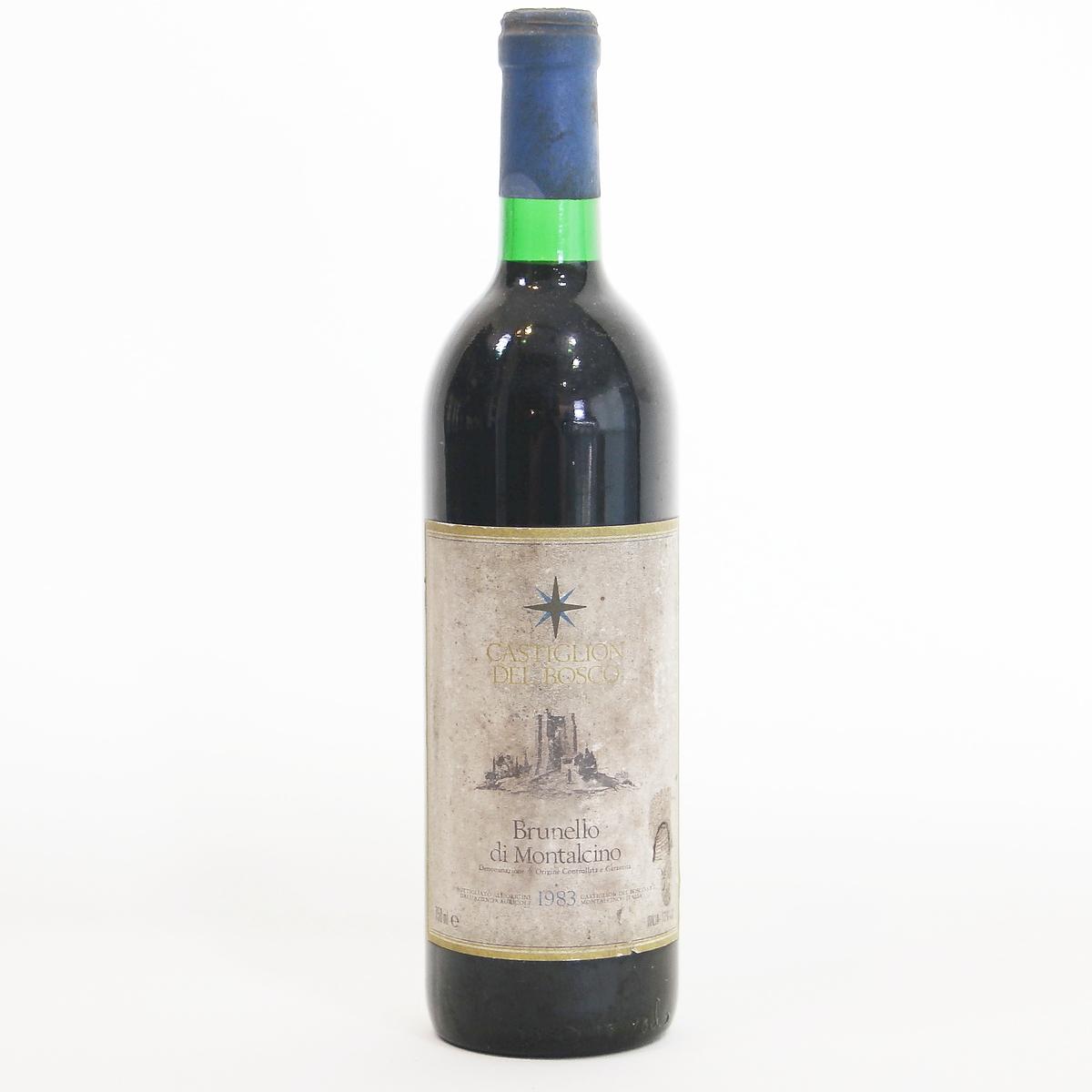 Brunello di Montalcino 1983 Castiglion del abosco ブルネロ・ディ・モンタルチーノ カスティリオン・デル・ボスコ  イタリア トスカーナ州 モンタルチーノ村 赤ワイン 750ml