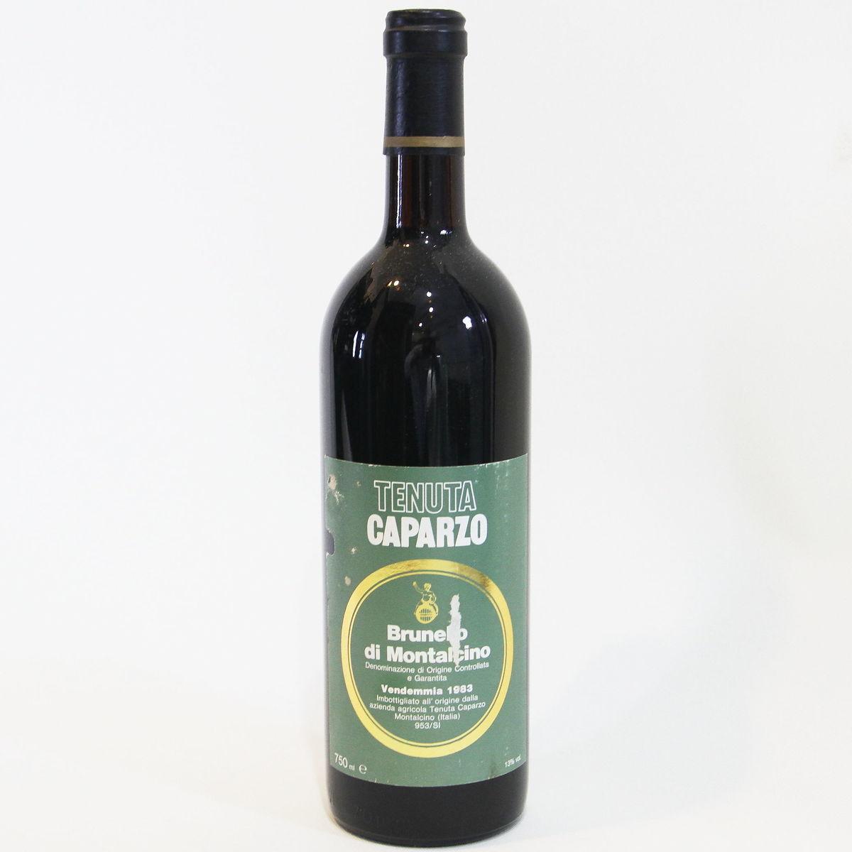 【1983年】ブルネッロ ディ モンタルチーノ テヌータ カパルツォ Brunello di Montalcino Caparzo  イタリア トスカーナ州 赤ワイン 750ml