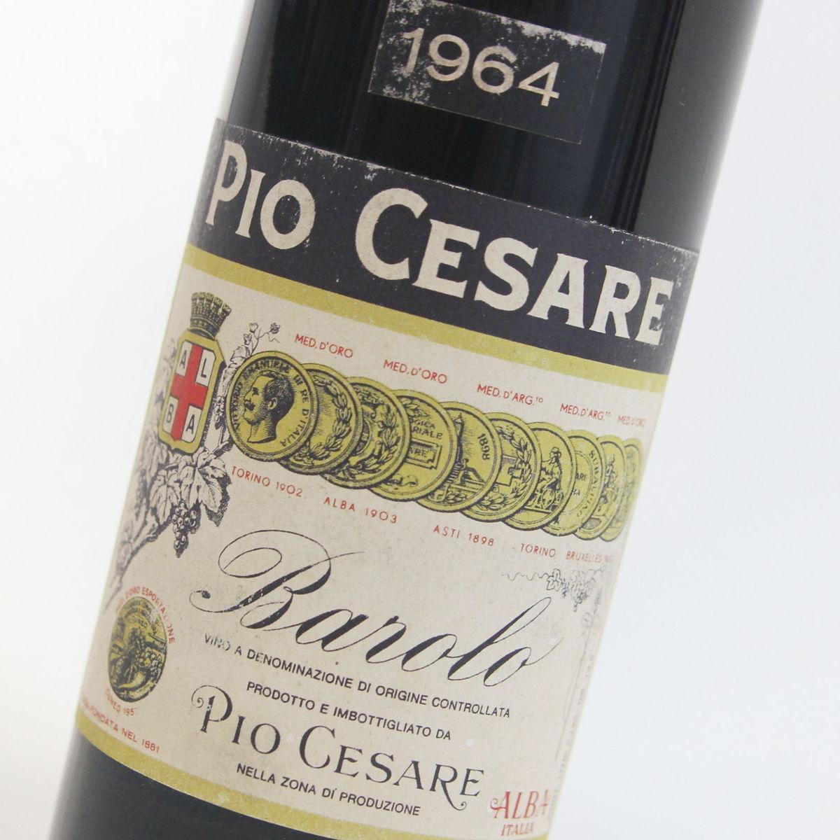 【1964年】バローロ ピオ・チェ-ザレ Barolo Pio Cesare イタリア ピエモンテ 赤ワイン 750ml