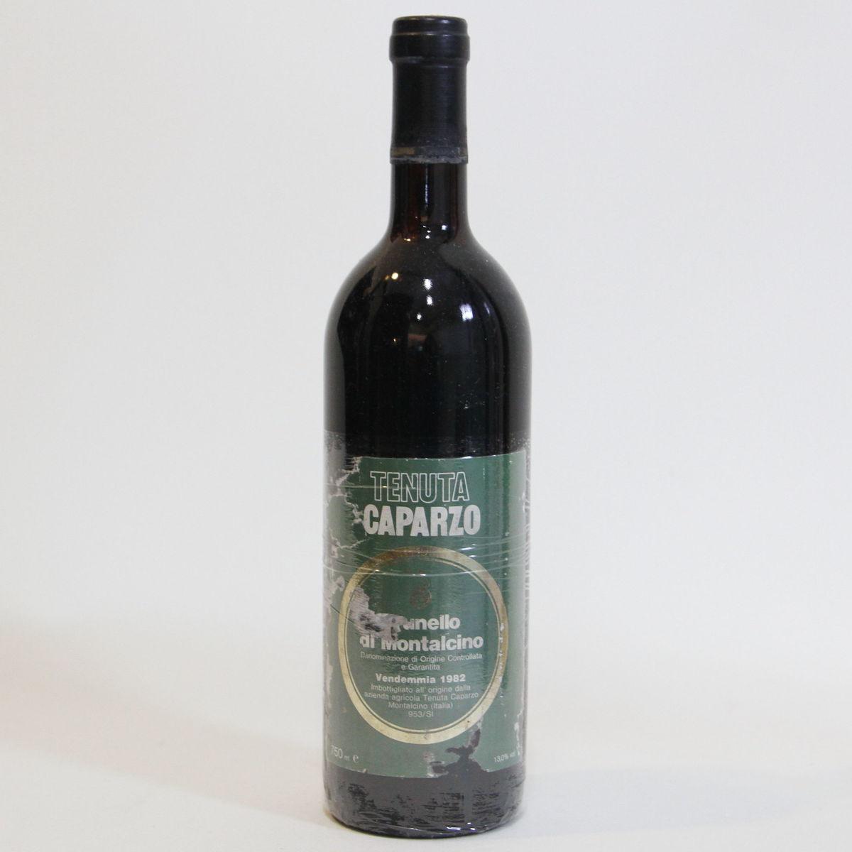 【1982年】ブルネッロ ディ モンタルチーノ テヌータ カパルツォ Brunello di Montalcino Caparzo  イタリア トスカーナ州 赤ワイン 750ml