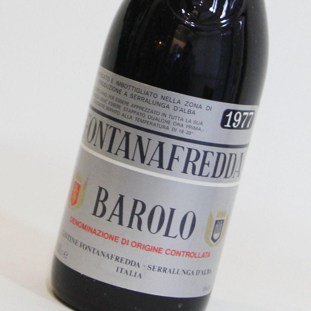 【1977年】バローロ フォンタナフレッダ Barolo Fontanafredda イタリア ピエモンテ 赤ワイン 750ml