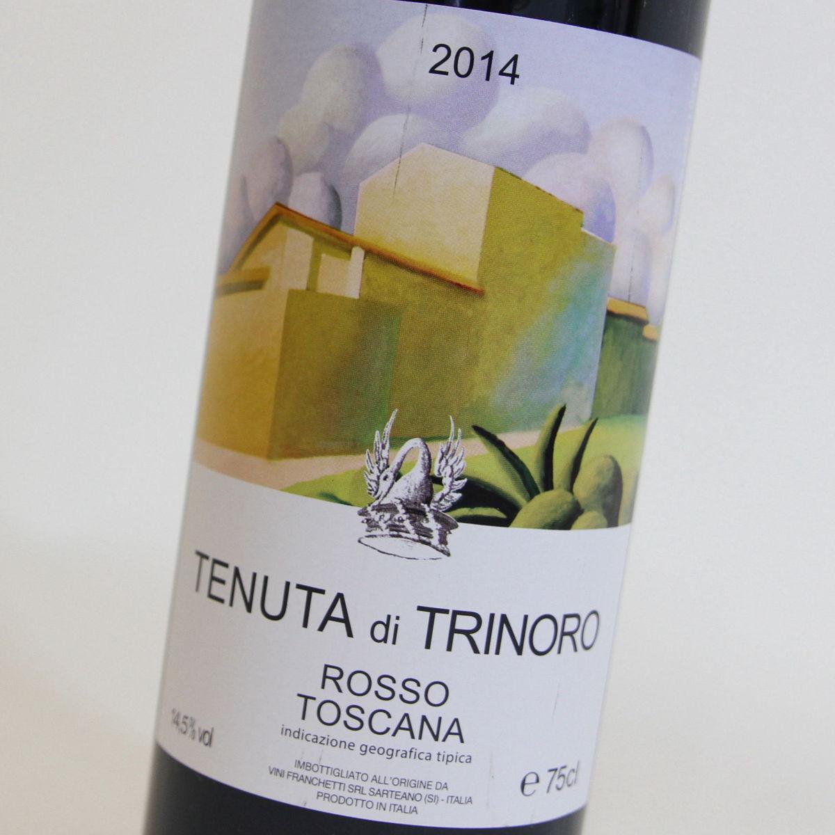 【2014年】ロッソトスカーナ テヌータ ディ トリノーロ Rosso Toscana Tenuta di Trinoro イタリア トスカーナ州 赤ワイン 750ml