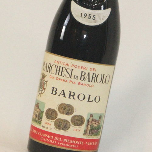【1955年】バローロ マルケージ・ディ・バローロ Barolo Marchesi di Barolo イタリア 赤ワイン 750ml