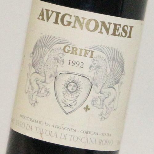 【1992年】グリフィ アビニョネージ Grifi Avignonesi イタリア トスカーナ州 赤ワイン 750ml