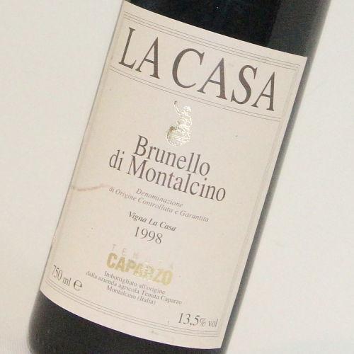【1998年】ブルネッロ ディ モンタルチーノ ラ カーサ カパルツォ Brunello di Montalcino La Casa Caparzo  イタリア トスカーナ州 赤ワイン 750ml