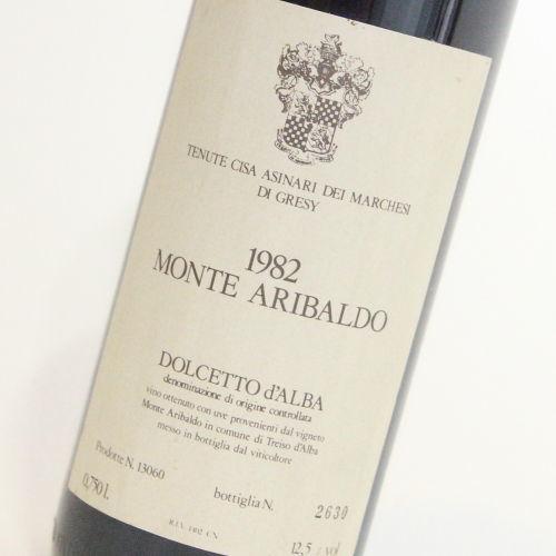 【1982年】ドルチェット ダルバ モンテ アリバルド マルケージ ディ グレシー Dolcetto d'Alba Monte Aribaldo Marchesi di Gresy イタリア ピエモンテ州 赤ワイン 750ml
