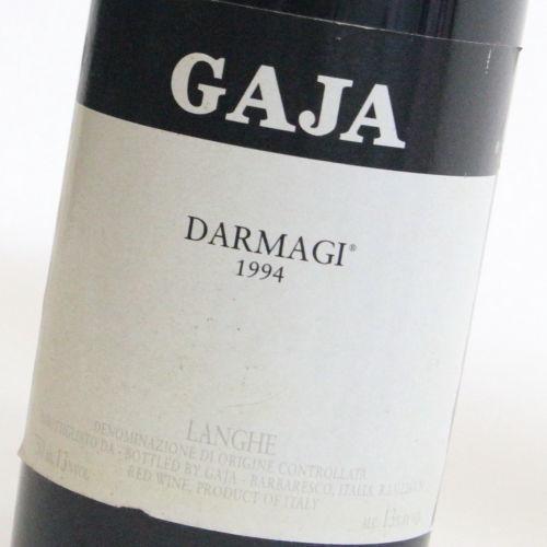 【1994年】ダルマジ ガヤ Darmagi Gaja イタリア ピエモンテ 赤ワイン カベルネ メルロー 750ml