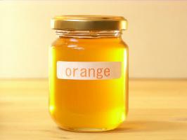 流行のアイテム 香りが良くてスッキリした甘さオレンジはちみつ125g 超歓迎された
