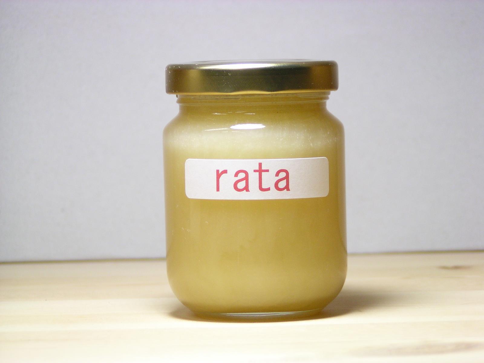 程よい甘味にコクのあるラタはちみつ125g入り 在庫一掃 本物◆
