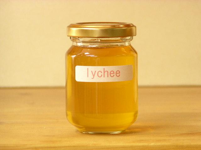 フワッと感じるフルーツの香りタイ王国産ライチはちみつ125g入り蜂蜜 ハチミツ 再入荷 予約販売 はちみつ 瓶詰 実物 ハニー